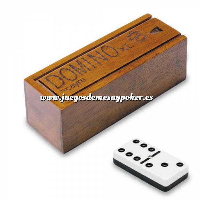 Imagen Dominó Dominó melamina XL en caja deluxe