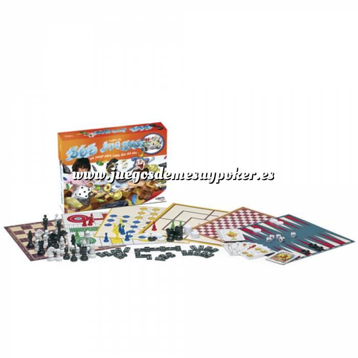Imagen Otros juegos y Casino 365 Juegos de mesa (Últimas Unidades)