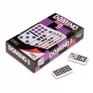 Dominó - Dominó hasta doble 9 en caja cartón