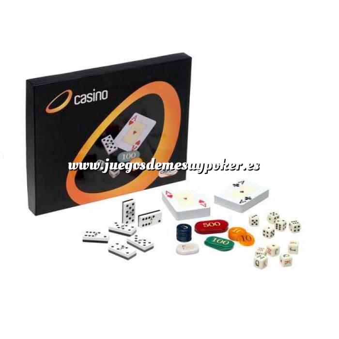 Imagen Otros juegos y Casino Caja Multijuegos Póker, Dominó, dados... (Últimas Unidades)