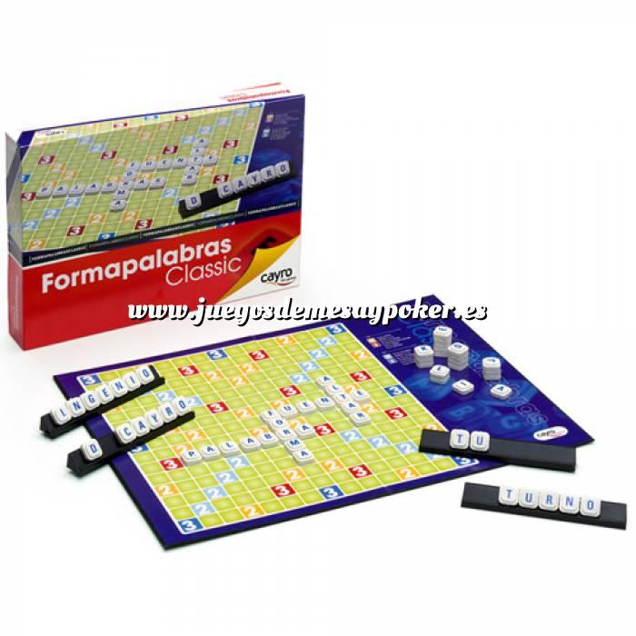 Scrabble formapalabras for Precio juego scrabble mesa