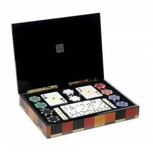 Maletines Poker - Caja Multijuegos Póker, Dominó, dados...Deluxe Moderno
